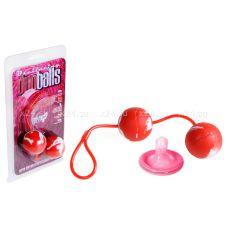 Анально-вагинальные шарики со смещенным центром тяжести Duo Balls