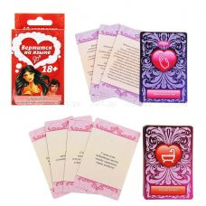 Игра с карточками &quot^Вертится на языке&quot^