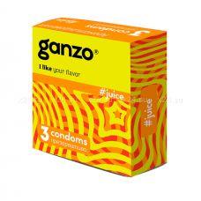 Купить Презервативы GANZO NEW JUICE No3 Ароматизированные