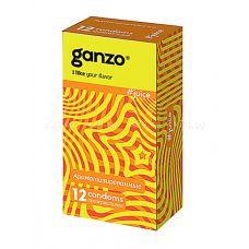 Презервативы GANZO JUICE No12 Ароматизированные
