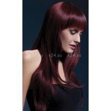 Вишнёвый парик с чёлкой &quot^Sienna&quot^