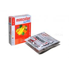 "Презервативы Masculan ULTRA тип 1 ""^ТУТТИ-ФРУТТИ""^ (3 шт.)"