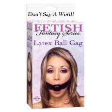 Кляп на липучке Latex Ball Gag
