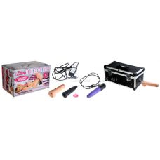 Секс-машина чемодан Tool Box (две насадки + вибратор-язык)